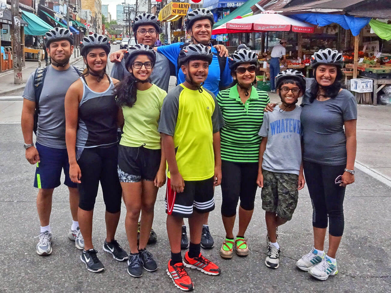 Family Bicycle Tours of Toronto